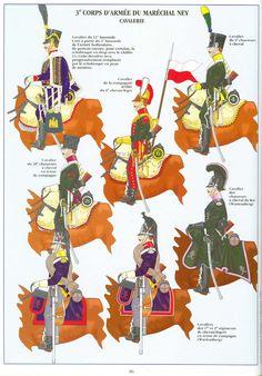 Ussari, cacciatori e cavalleggeri del corpo di Ney