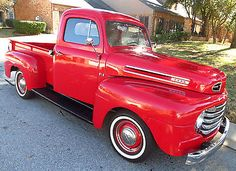 Ford : Other Pickups F 1 1950 Ford F1 Pickup Truck 239 Flathead V8 100hp Matching Numbers 48k original mi