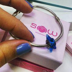"""Comece já hoje a coleccionar os seus sonhos de Verão! ✈  Compre já: Murano """"Sonhos"""" da SMW  1SMW166 Preço: 16,14€  www.smw-jewels.com"""