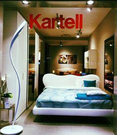 @Antuori Home: Marilyn di Mario Bellini per Flou + Lampada Doride di Karim Rashid per Artemide