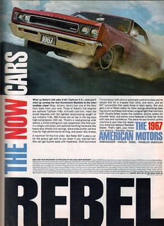 1967 American Motors Rebel 2 Door Hardtop