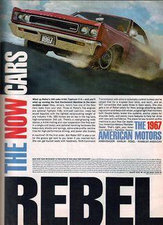 1967 American Motors Rebel 2 Door Hardtop