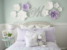 Home by Heidi: Purple & Turquoise Little Girls Room More