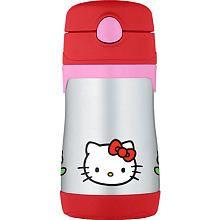 Thermos Hello Kitty Straw Bottle - 10oz
