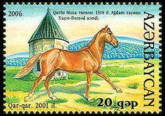Caballos De Karabagh Rich And Magnificent Tema: Fauna Año: 2006 Fast Deliver Azerbaiyan