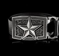 Star Buckle - NightRider Jewelry