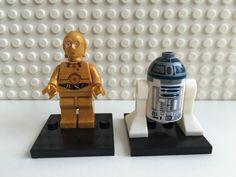 Star Wars R2 D2 C-PO Mini Action Figures by NKStoreAustralia