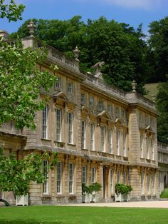 Dyrham House, near Bristol, Gloucestershire, England by English Manor Houses, English Castles, English House, Mansion Homes, Le Palais, Grand Homes, Photos Voyages, Classical Architecture, Landscape Architecture