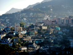 Kohima, capital of Nagaland, North East India  shot by Tom TBM in 2012