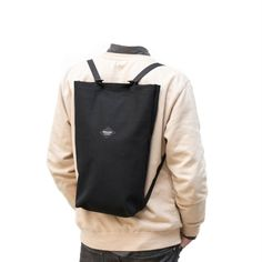 the simplest we ever made canvas, steel loops, canvas strap, inner compartment, key hook Urban Cycling, Key Hooks, Drawstring Backpack, Backpacks, Steel, Canvas, Bags, Fashion, Tela