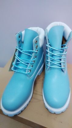 Timberland BootS SkyBlue White For Women,Fashion Winter Timberland Women Shoes,New Timberland 2016 Women Boots Knee High Timberland Boots, Timberland Classic, Timberland 6, Timberland Earthkeepers Chukka, Timberlands Shoes, Galaxy Converse, Converse Chuck, Timberland Splitrock, Timberland Waterproof