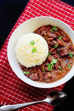 Cajun Red Beans and Rice | Grandbaby Cakes