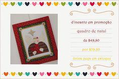 d'incanto: quadro de natal, última peça em estoque, com preço imperdível, confira!...
