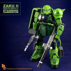 Zaku II v1 by Gundamuk