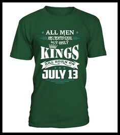 Kings are born on July 13 (*Partner Link)