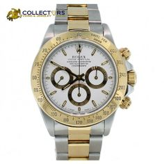 Mens Rolex Daytona ZENITH Two Tone Gold & Stainless Steel Chronograph Watch 116523 40mm #mens #rolex #Daytona #zenith #gold #stainless #steel #jewelry #dress #watch #sale - get 2% OFF with coupon code: SMR14