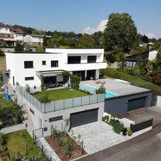 Erfüllen Sie Ihren Traum vom Haus. Passive House, Dream House Exterior, House 2, Style At Home, Decoration, Rooms, House Design, Mansions, Architecture