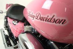 pink harley davidson -