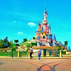 Euro Disney Paris - you really feel like a child again when you go there... I was here with my dad and the whole portuguese dancing group. I will never forget this weekend :)