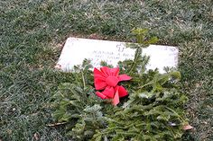 Finn's Point National Cemetery New Jersey some are flat stones. December National Wreaths Across America Day were placed , Veterans Cemetery, Wreaths Across America, Flat Stone, National Cemetery, December, Stones, Rocks, Rock