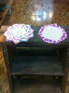 Pot holders hand made with love by Little Deanie Jones. $15 each!