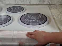 Contact Paper Countertops Full Tutorial And Review - The Nifty Nester Cheap Kitchen Countertops, Diy Concrete Countertops, Counter Edges, Counter Top, Contact Paper, Home Repair, Nifty, Diy Kitchen, Kitchens