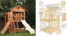 playhouse diy plans free - Cerca con Google