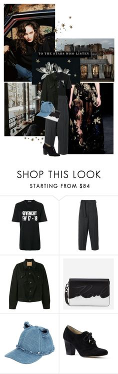 """✧to think how many dreams are scattered across the night sky ✧"" by nina-art-rose ❤ liked on Polyvore featuring Givenchy, Étoile Isabel Marant, Balenciaga, Karl Lagerfeld and Lands' End"