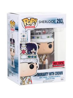 Funko Sherlock Pop! Moriarty With Crown Vinyl Figure Hot Topic Exclusive Pre-Release **Own It**
