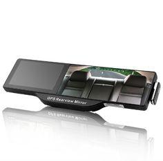 Espejo retrovisor con una función de navegación GPS - pantalla táctil de 5 pulgadas, Bluetooth