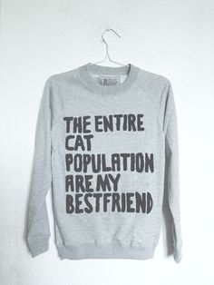Cat inspired sweaters are the ideal look for this winter.