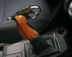 Handgun Grip Shift Knob http://stuffyoushouldhave.com/handgun-grip-shift-knob/