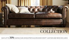 Pottery Barn, Chesterfield collection