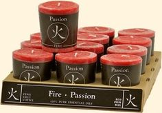 Fire - Passion Feng Shui Votive Candle Feng Shui candles reflect the ancient principles of Feng Shui, where color and fragrance relate to the Five Elements of Na Feng Shui Candles, Colors Of Fire, Elements Of Nature, Fifth Element, Organic Essential Oils, Votive Candles, Candle Making, Accent Colors, Fragrance
