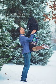 Couple Winter Photoshoot Ideas Engagement Couples Snow Photography