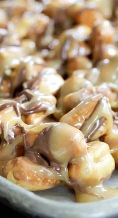 High Heels & Grills: Chocolate Caramel Pretzel Nibs
