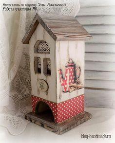 Декупаж чайного домика мастер класс - красивый декор своими руками