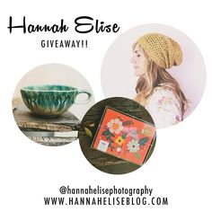 hannaheliseblog My friend who is a wonderful photographer is doing a giveaway!  Such fun items!