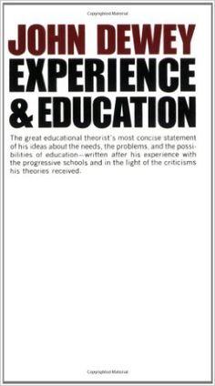 Experience And Education: John Dewey: 2015684838281: Amazon.com: Books