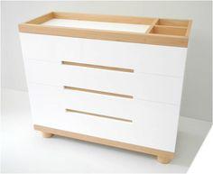 cambiador para bebe, Criollmodern furniture, diseño