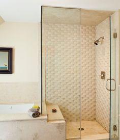 CEBULA DESIGN: Bathroom in Marshall, VA. #cebuladesign #interiordesign #bathroom ##allswellthatendswell