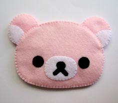 Pink Cute Kawaii Bear iphone camera gadget case. $22.00, via Etsy.