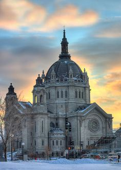 #Cathedral of #Saint #Paul, St Paul by Amanda Stadther.  http://amanda-stadther.artistwebsites.com/