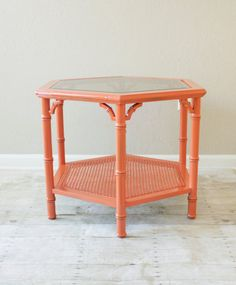 Hey, I found this really awesome Etsy listing at https://www.etsy.com/listing/126696211/sale-faux-bamboo-side-table-chinoiserie