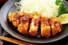 Tonkatsu Authentic Recipe | TasteAtlas Tonkatsu Sauce, German Sausage, Wiener Schnitzel, Japanese Dishes, Cauliflower Soup, Pork Dishes, Hot Pot, Pork Chops, Cooking