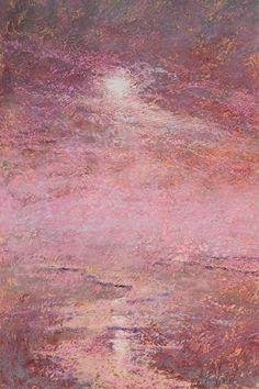 "Mark Brockman ~ ""Pacific Sun"" ~ Pastel on Paper 18 x 12"