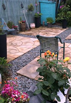 Patio Paving Options Paving Materials Backyard Bliss