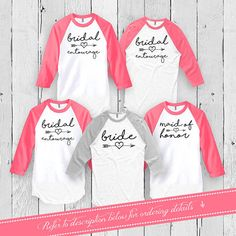 Brides And Bridesmaids Shirts Bachelorette Party T by Festiviteees