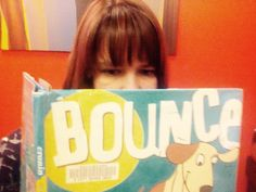 "#RPLStaffFavoriteReadAloud City Librarian Natasha loves the picture book ""Bounce""!"