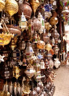 Assorted Variety of Lovely Handcrafted Lanterns
